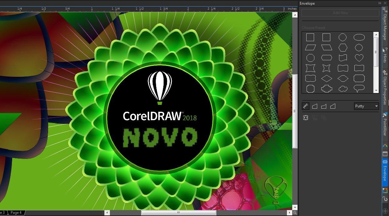 Novo CorelDRAW Graphics Suite 2018 | Agora Vai !!! - Corel