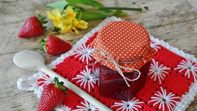 réussir ses confitures de fraises
