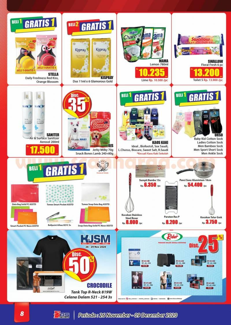 Katalog Promo Hari Hari Pasar Swalayan 26 November - 9 Desember 2020 8