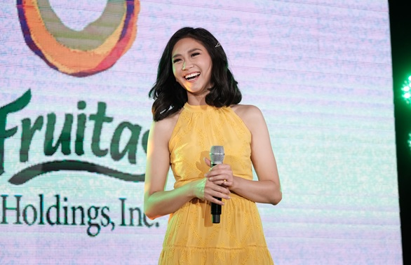 Sarah Geronimo is the newest face of Fruitas