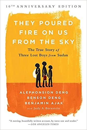 They Poured Fire on Us From the Sky The True Story of Three Lost Boys from Sudan top 10 books 2021