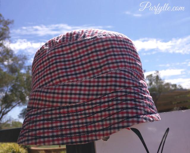 Gingham Hat
