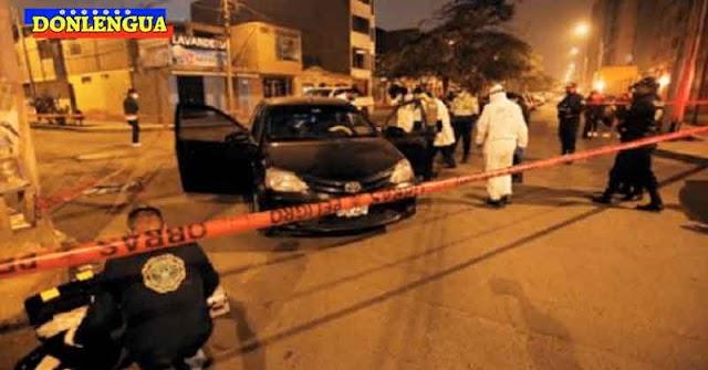 Prestamista venezolano asesinado a sangre fría en Perú