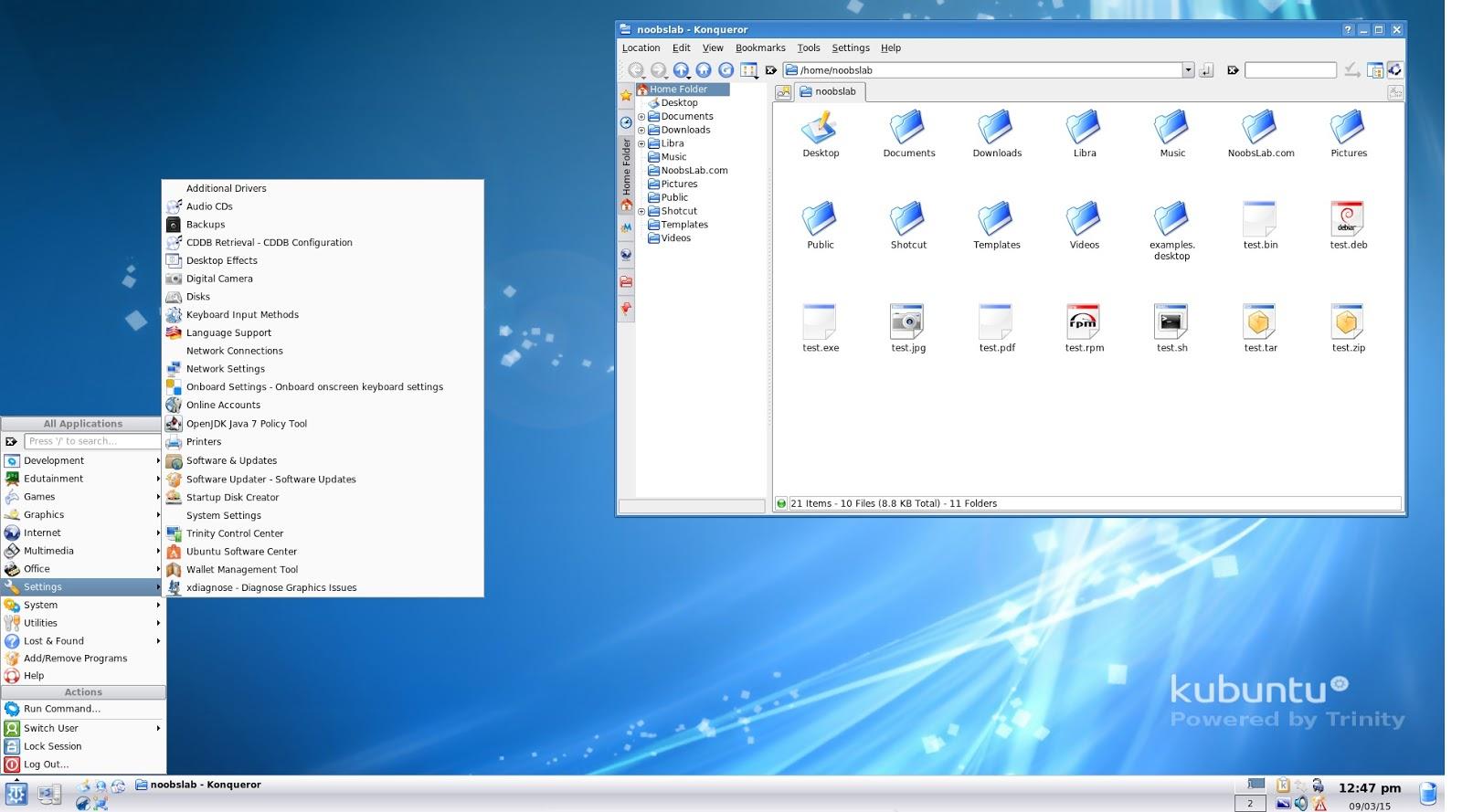 Trinity Desktop: A Great Taste of KDE 3 5 for Your Debian