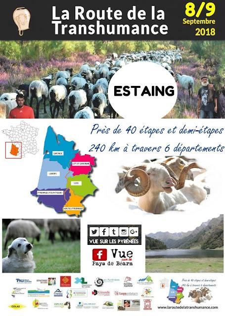 La Route de la Transhumance 2018 Pyrénées
