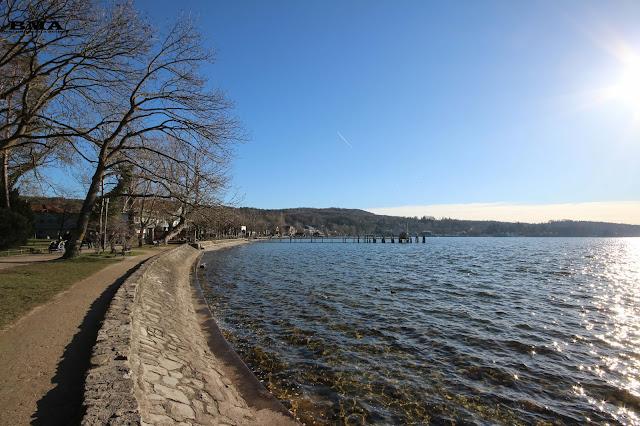 wanderung von herrsching zum kloster andechs - outdoor blog