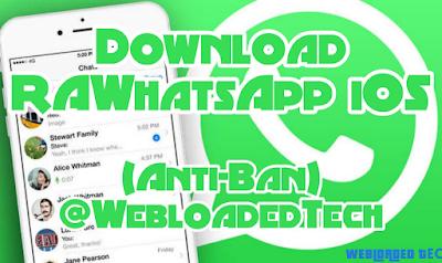Download RAWhatsApp iOS v8.51 APK Latest (Anti-Ban) 2020
