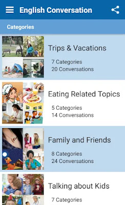 English Conversation Practice App