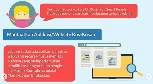aplikasi dan website pencari kos