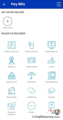 Biller Categories on GCash