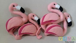 Locação Bonecos Flamingos Porto Alegre