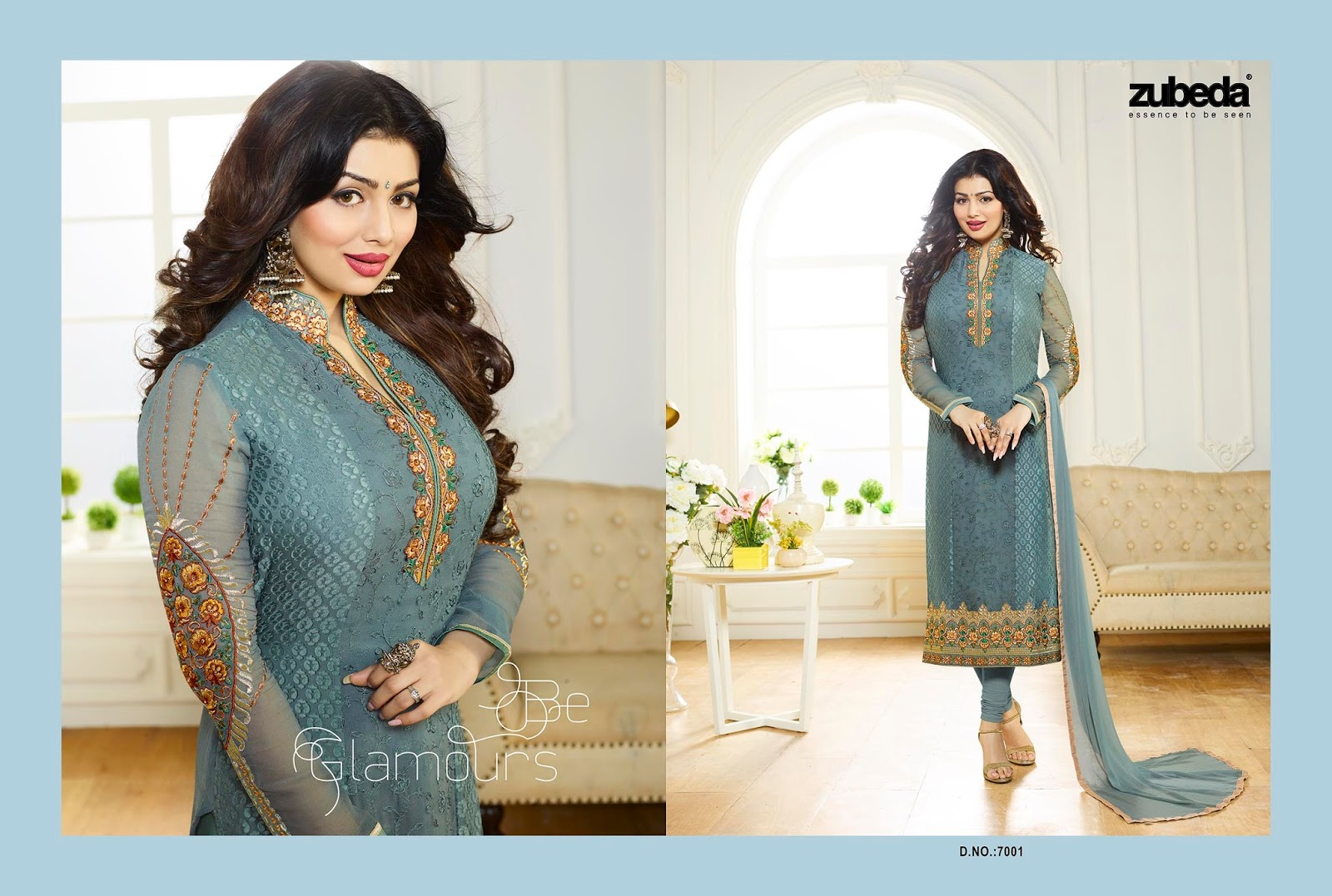 Brasso Vol 7 – Embroidery Brasso Designer And Straight Cut Salwar Suit