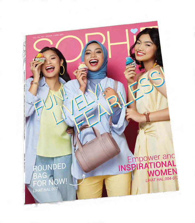 KATALOG SOPHIE PARIS APRIL 2020: FUN! LIVELY! FEARLESS!