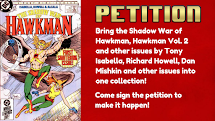 Petition for Hawkman!