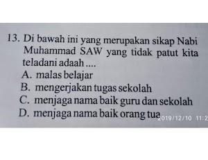 Soal Ujian SD di Solok Dinilai Lecehkan Nabi Muhammad SAW, Ini Jawaban dari Kadis Pendidikan dan Kabid SD