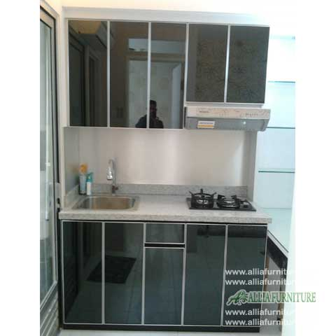 kitchen set simpel minimalis model tone