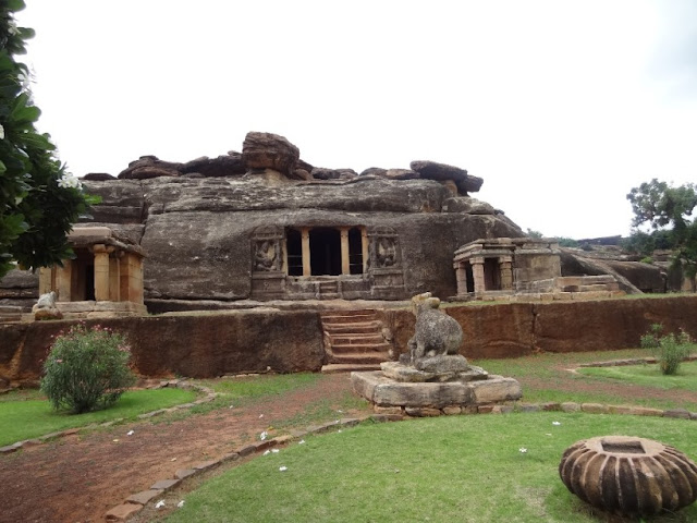 Places to see in Aihole - Ravanphadi cave temple