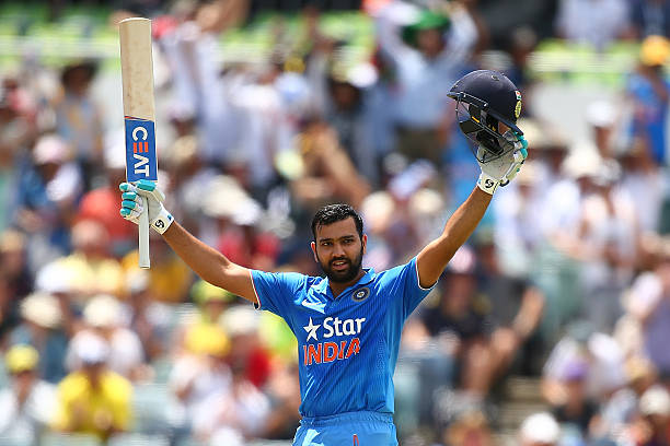 Rohit Sharma after hitting double ton