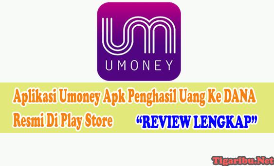 Review Tentang Aplikasi Umoney Apk Penghasil Uang Ke DANA Aplikasi Umoney Apk Penghasil Uang Ke DANA Resmi Di Play Store  Aplikasi Umoney Apk adalah sebuah aplikasi penghasil uang ke DANA yang baru saja resmi rilis di Play Store.   Aplikasi Umoney Apk Penghasil Uang ini menawarkan misi yang sangat mudah dikerjakan untuk menghasilkan uang ke DANA.  Misi Aplikasi Umoney Apk Penghasil Uang yaitu memberikan like di konten youtube, TikTok, dan postingan facebook.   Misi yang ditawarkan aplikasi ini tentu sudah tidak asing lagi bagi pemburu receh dari internet karena di aplikasi penghasil uang sebelumnya rata – rata menggunakan misi seperti ini juga.  Bagi member gratisan yang menyelesaikan misi akan dibayar lebih kurang 4000 rupiah hanya dengan dua buah tugas saja.  Menariknya lagi, jika Anda berhasil mengundang teman ke Aplikasi Umoney Apk Penghasil Uang dan mereka menjadi anggota aktif, Anda akan dibayar dengan uang tunai sebesar 180.000 rupiah.  Cara Daftar Aplikasi Umoney Apk Penghasil Uang Ke DANA Cara daftar Aplikasi Umoney Apk Penghasil Uang ke DANA yang baru rilis ini sngat mudah sekali. Langsung saja yah ikuti cara daftar Aplikasi Umoney Apk Penghasil Uang ke DANA berikut ini : Akses link daftar Aplikasi Umoney Apk Penghasil Uang ke DANA disini (https://admin.umoney.tv/index/index/register)