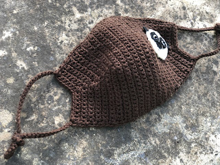 Crochet Face mask, Reusable Washable Handmade in Israel by TomToy