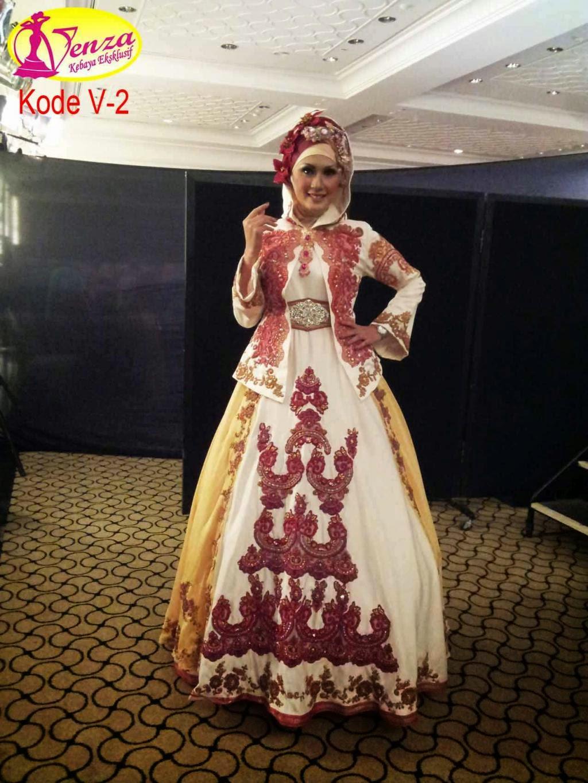 Contoh Kebaya Gaun Muslim Modern