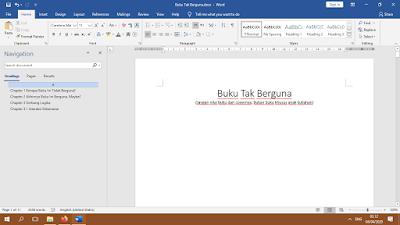 """Proyek Penulisan Buku """"Buku Tak Berguna"""" [Update 1 Oktober 2020]"""