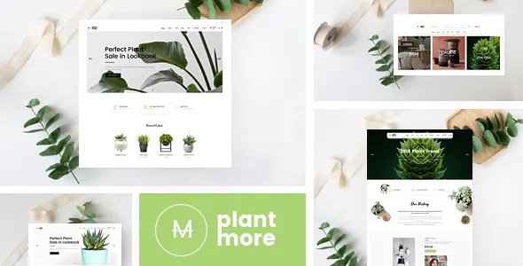 Best Organic & Plant Responsive Prestashop Theme