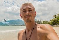 Arkadij WELTREISENDER in Patong Beach in Phuket, Thailand.