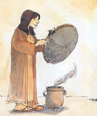 Viene preparata la cesta
