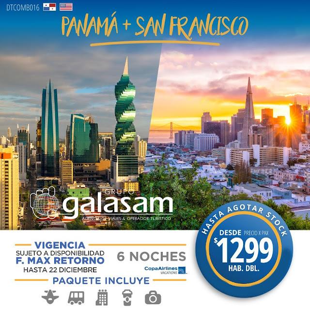 PANAMÁ Y SAN FRANCISCO (7 DÍAS / 6 NOCHES)