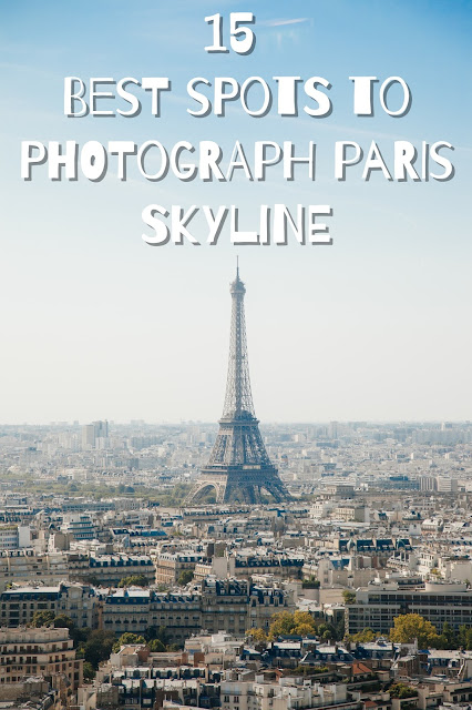 place best Paris skyline view
