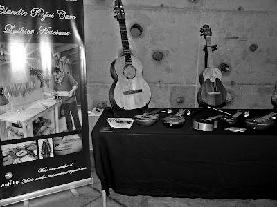 Instrumentos del luthier Claudio Rojas