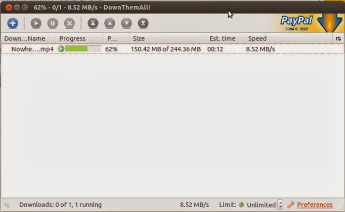 Download files with 4x speed with Mozilla Firefox