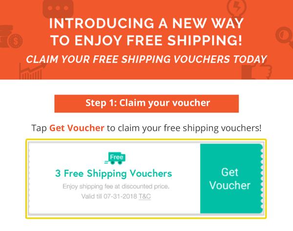 Cara Tebus Free Shipping Kat Shopee Adarain