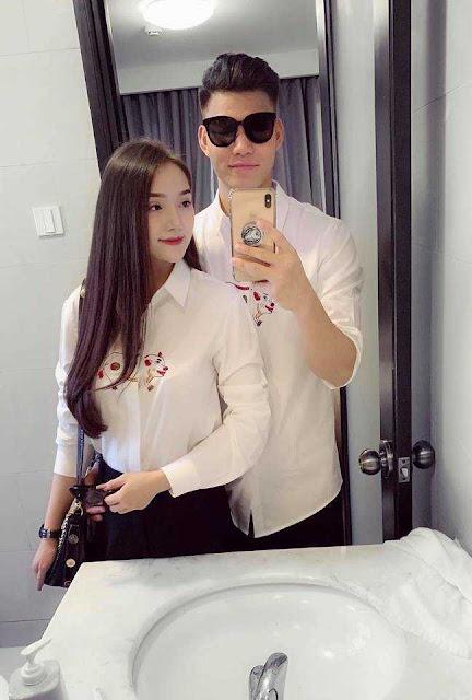 Bạn gái Văn Thanh khoe đường cong nóng bỏng bên bờ biển