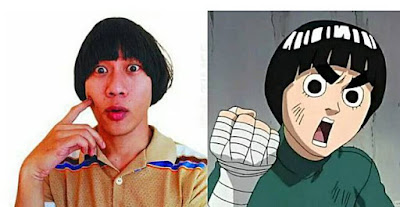 Qibil the Changcuters persis Rock Lee.