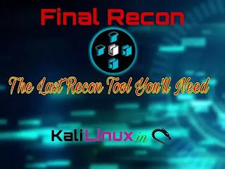 FinalRecon