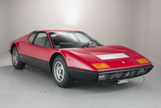Hexagln Classics offers a rare Ferrari at it's next auction, the 1975 365 GT4 BB.