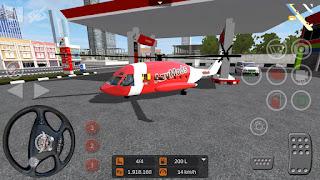 Mod Helikopter Bus Simulator Indonesia (BUSSID)