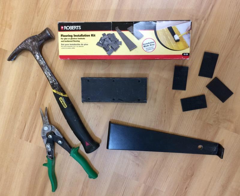 Real Girls Realm Tips For Installing Luxury Plank Vinyl Flooring - Tools needed for vinyl flooring