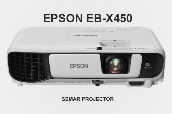 Sewa proyektor Epson EB-X450 3.600 lumens di Semarang