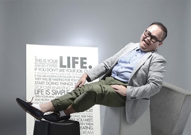 Desainer Grafis dan Inspirator Muda Indonesia Yohanes Raymond
