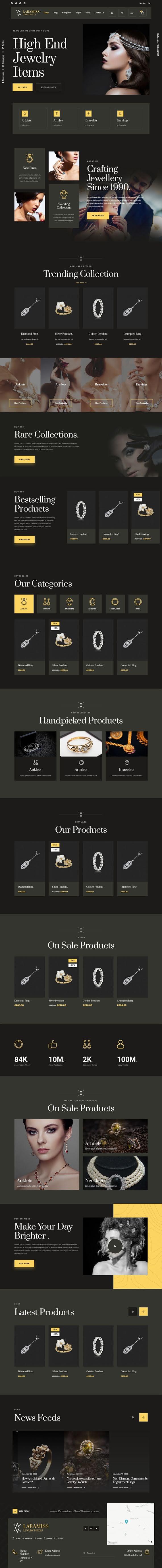 Multipurpose Luxury WordPress Theme