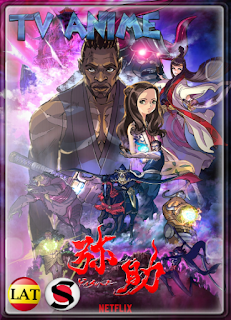 Yasuke (Temporada 1) WEB-DL 1080P LATINO/ESPAÑOL/JAPONES/INGLES