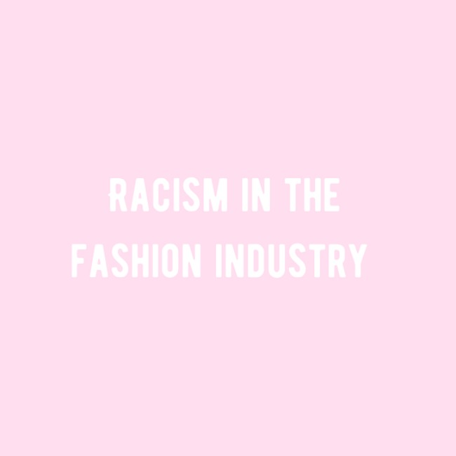 We Have To Talk About Racism In The Fashion Industry | Podcast