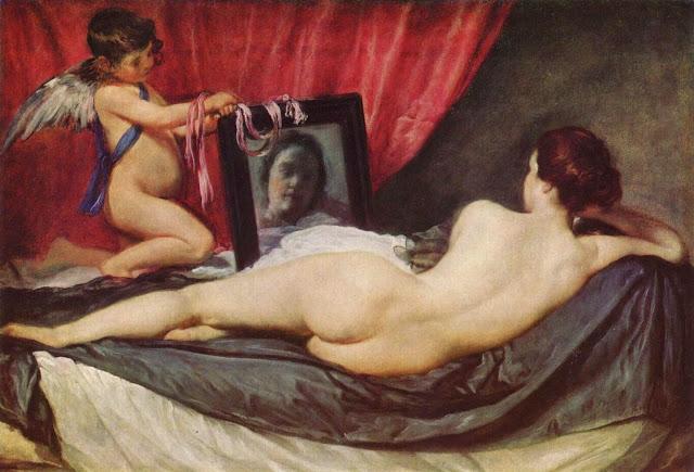 Diego Velasquez – The Toilet of Venus [La Venus del espejo, 1647-51]