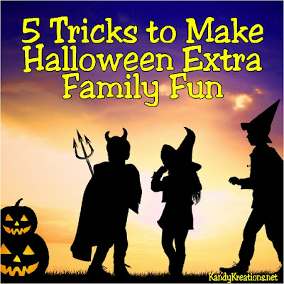 Extend the fun beyond Trick or Treating with these five tips to make Halloween extra fun for your family.