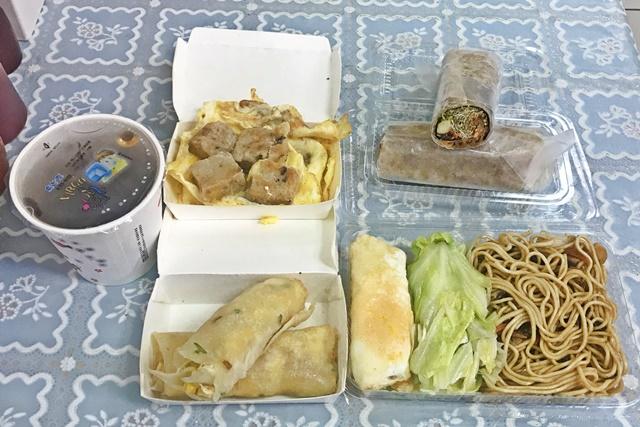 親子早點、健康素食早點(觀世音素菜早餐部)~台北市素食早餐、捷運中山國小站