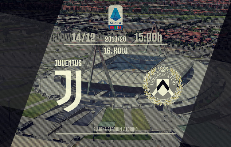 Serie A 2019/20 / 16. kolo / Juventus - Udinese, nedelja, 15:00h