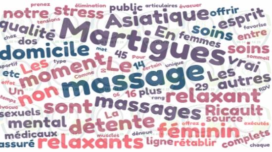 Massage complet à domicile Martigues;
